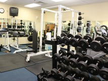 Workout Area at Station 92