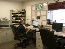 Office at Station 93